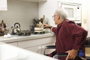 kitchen for elderly