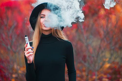 E cigratte nicotine salts